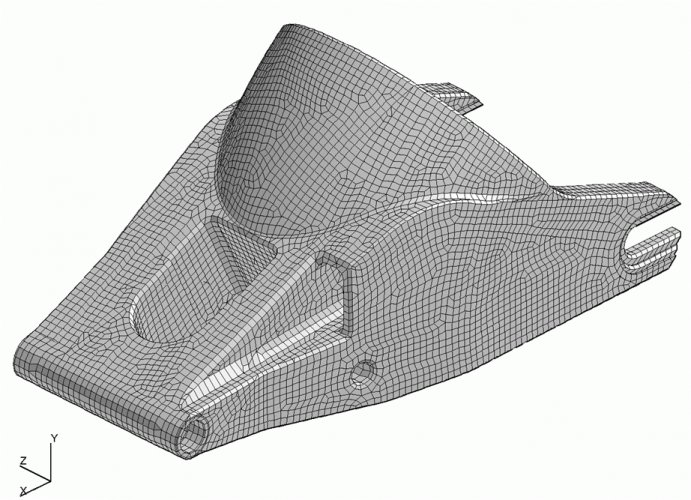 Concept Analysis and Design of Moto GP Composite Swing Arm